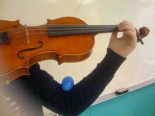ElbowLeft Hand Posture for Violin/Viola...with an Easter Twist | On Music Teaching and Parenting