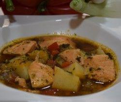Ryba z ziemniakami przepis na hiszpanskiejedzenie