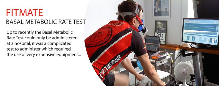 FITMATE BASAL METABOLIC RATE TEST