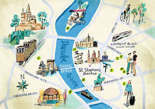 Nik Neves - Budapest map