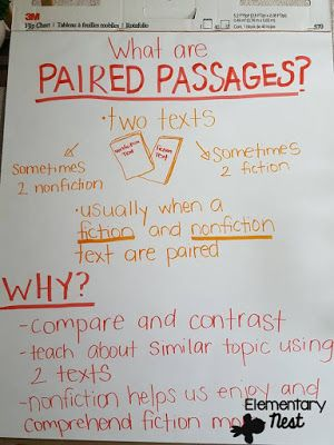 paired texts for opinion writing anchor