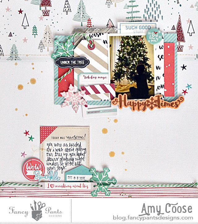 Hello Fancy friends! Today we are REintroducing our friend, Amy Coose. She used to be a big part of the Fancy Pants team and we are so very thrilled to have her talents with us again. I'm su…