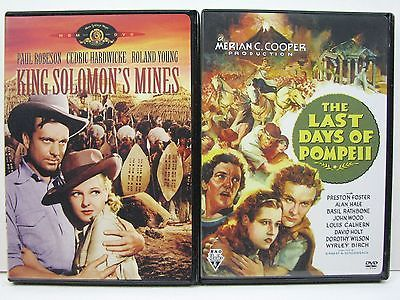 King Solomon's Mines & The Last Days of Pompeii (DVD) Paul Robeson