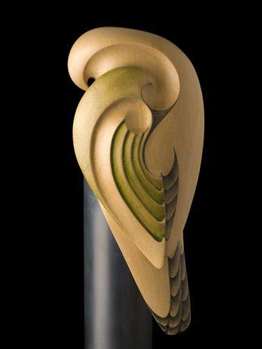 Kaka (New Zealand Bush Parrot) by Rex Homan, Māori artist (KR71205)