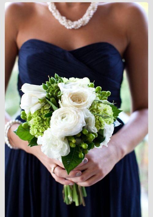 Google Search. green  white bouquet