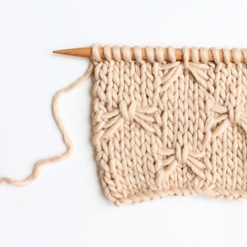 Technique Pour tricoter ce point, il faut connaître la technique de la maille glissée à l'envers avec le fil derrière la maille : avec le fil placé derrière l'ouvrage, piquer l'aiguille droite de droite à gauche dans la première maille de l'aiguille gauche comme pour la tricoter à l'envers. Il suffi