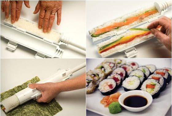 Een Sushi-Bazooka!
