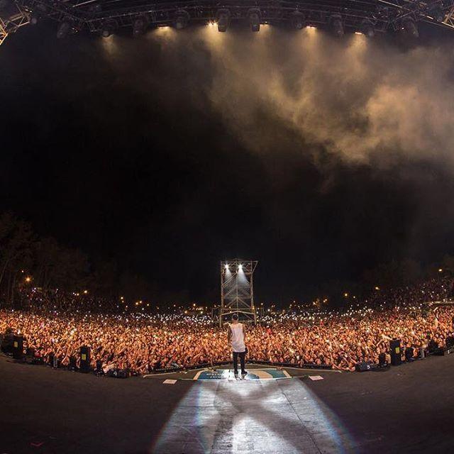Maluma @maluma: 100.000 personas ayer en General Roca-Argentina