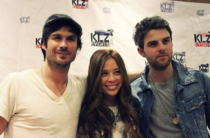 Malese Jow And Nathaniel Buzolic