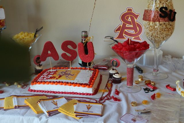 17 best images about asu party on pinterest sun sugar for Table 52 dessert