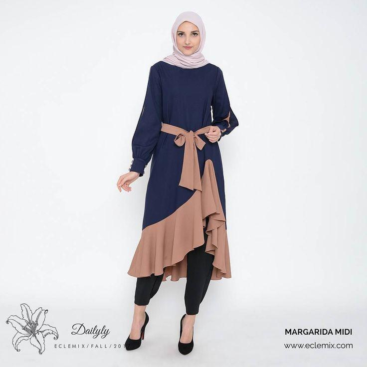 Masih galau milih warna margarida? Buruan ladies putusin mau warna navy choco cream atau pink. Stock terbatas ya :) ... . Buruan cek di www.eclemix.com atau kontak admin di : WA : 081326004010 LINE@ : @eclemix . Happy weekend  happy shopping ladies :) . #eclemix #sale #weekend #ootd #fashion #beauty #hijab #indonesia #bandung #localbrand