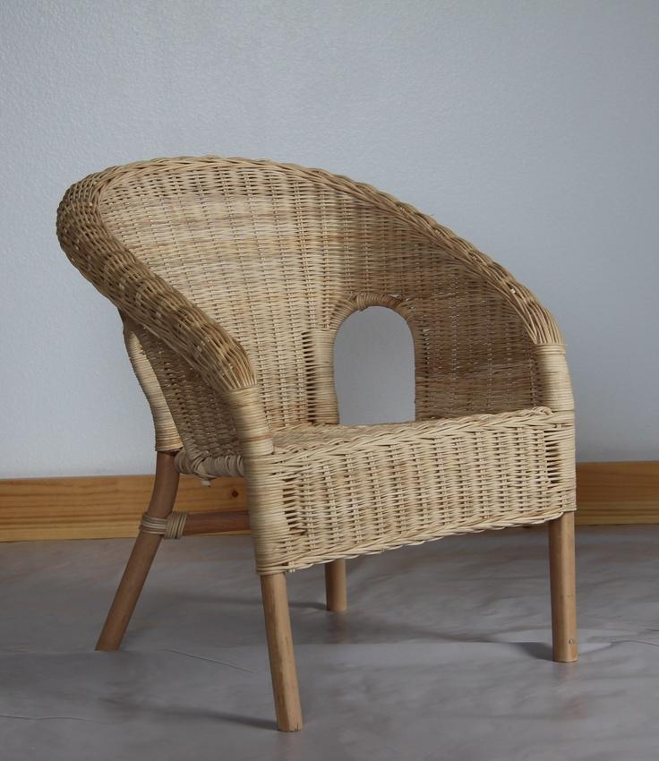 Wicker Chair Child Seating Studio Chair Wicker Decor