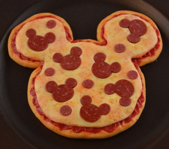I LOVE Disney as much as I love making miniature food! Bring the fun of the park home for your American Girl Doll. This pizza is one of the
