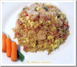 arroz chino al estilo puertorriqueño (arroz frito)