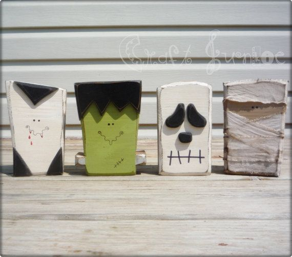 Halloween Blocks. So cute!