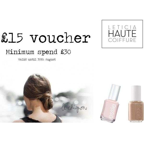 """Leticia Haute Coiffure £15 Voucher"" by laetitia-1 on Polyvore"