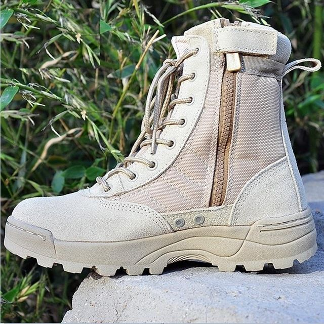 Fair price Men Military Boots special forces tactical desert combat boots outdoor working shoes Infantry special boot B160 just only $48.38 with free shipping worldwide  #menshoes Plese click on picture to see our special price for you