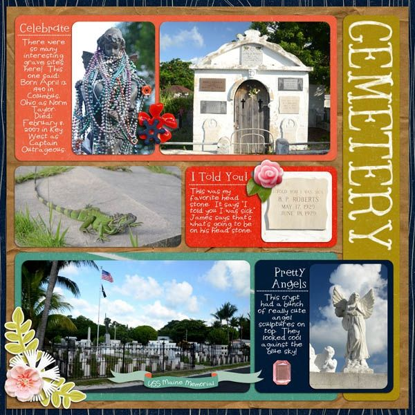 Key West Cemetery 1 by Karen_ @2peasinabucket using Words and Pictures Templates 6 by Misty Cato