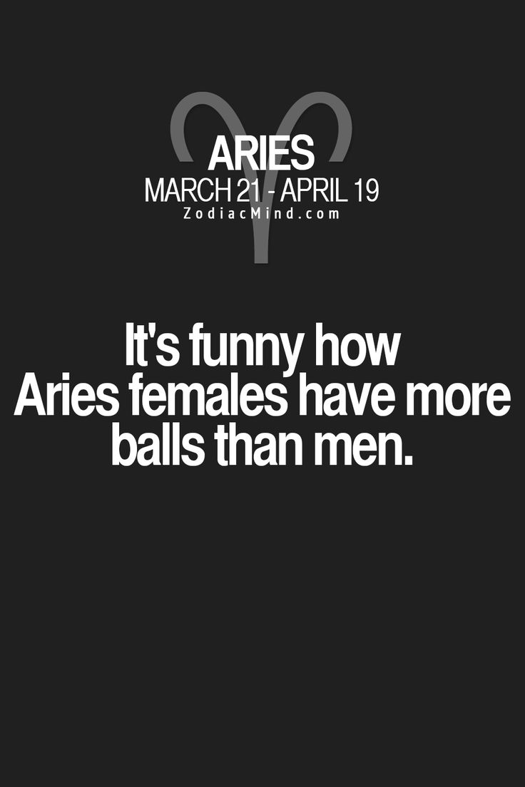 Aries female dating aries male