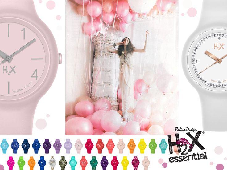 Colori vivaci e golosi contro il grigiore della giornata?  Come caramelle :)  Gli orologi della collezione H2X ONE sono disponibili in una quantità di colori diversi, hanno tutti cover e cinturino intercambiabile.  In versione LADY, GENT e KIDS per i più piccoli!
