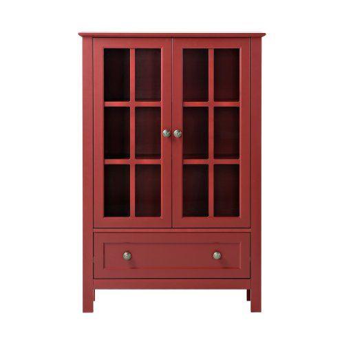 Homestar Glass Curio Cabinet - China Cabinets at Hayneedle