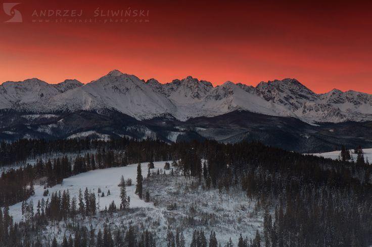 Sunrise in Lesser Poland.