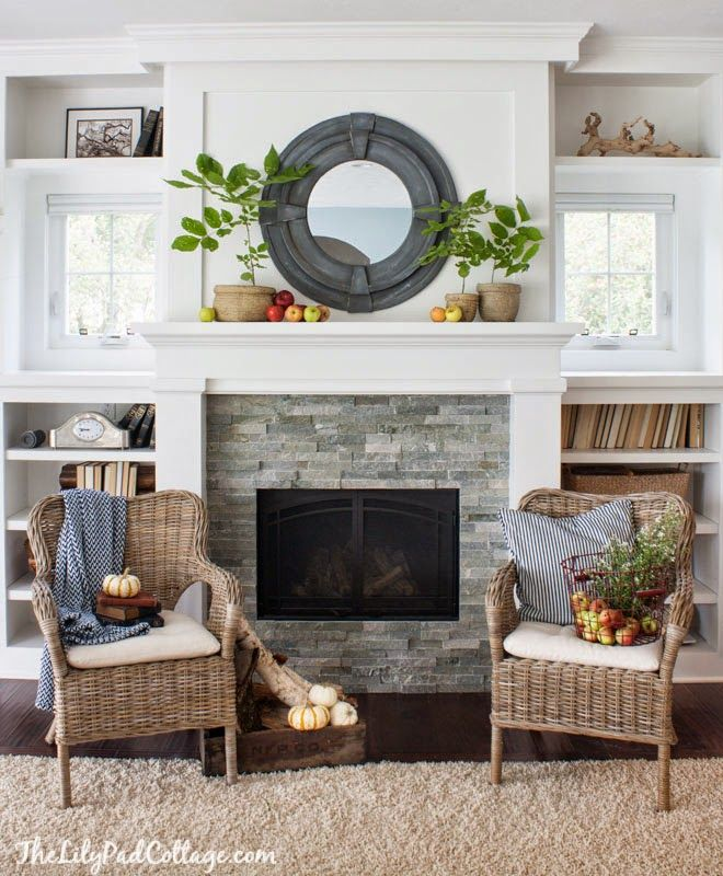 A Burst of Beautiful - Home Tour: The Lily Pad Cottage {Fall Tour}