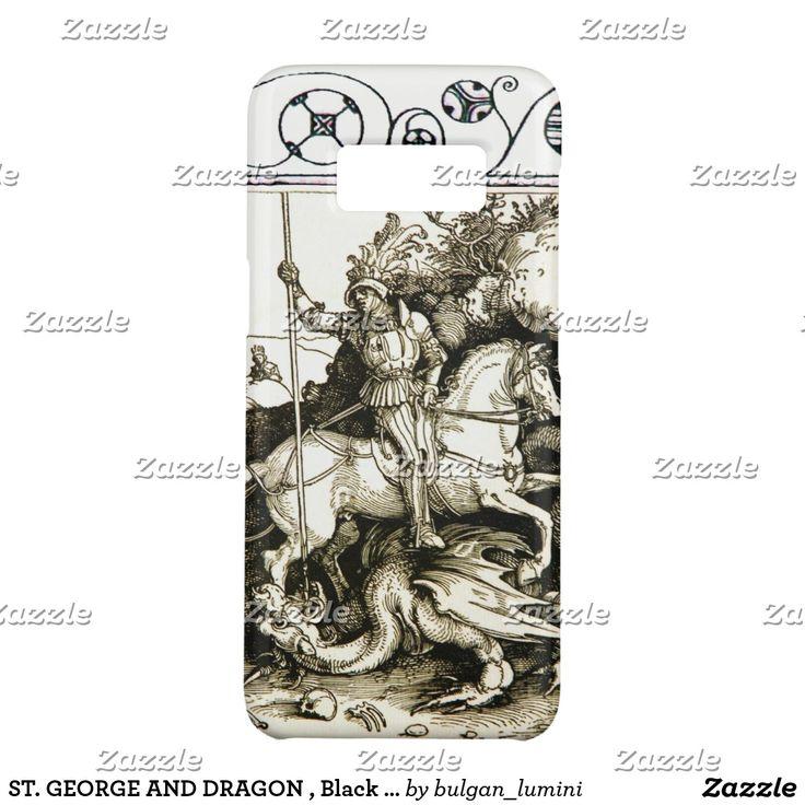ST. GEORGE AND DRAGON , Black White Case-Mate Samsung Galaxy S8 Case #durer #christian #saintgeorge