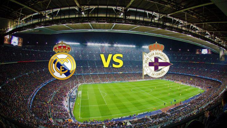 Ver Real Madrid vs Deportivo EN VIVO Online LaLiga Santander 10 de Diciembre 2016
