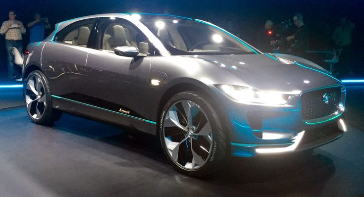 New Electric Jaguar I-Pace Crossover Concept Is The Brand's Future [Live Pho…