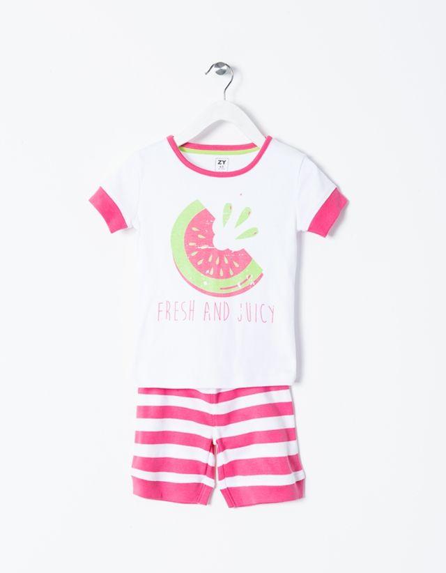 Pijama 100% algodão com acabamento de carbono. Suave, transpirável e…