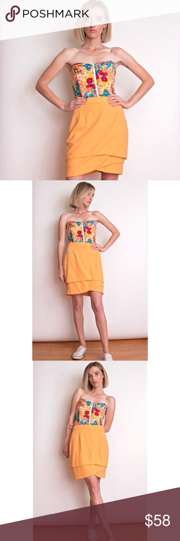 Escada coral orange asymmetrical wool mini skirt ESCADA coral orange mini skirt. Asymmetrical wave layered structure. 100% virgin wool. Size 36 euro  Waist-26 Hips-32 Length-19 Escada Skirts Mini