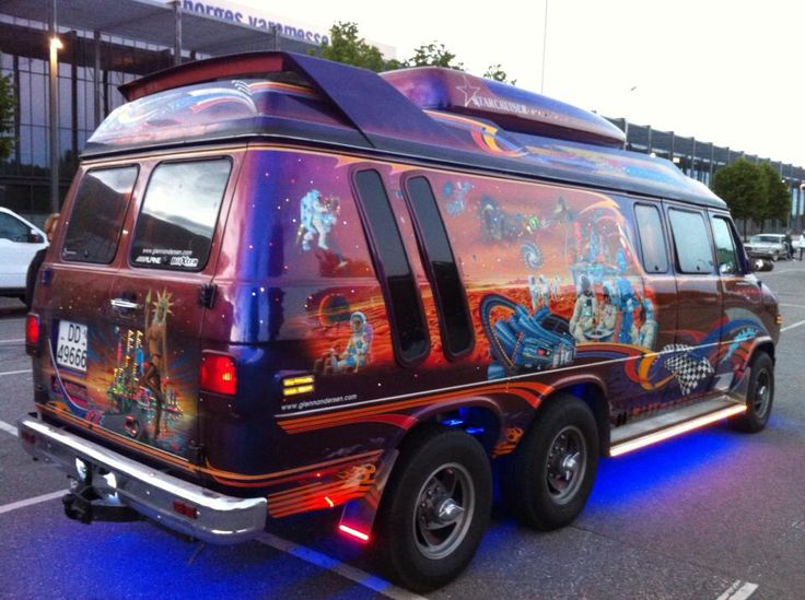 Another Stunning Must See Show Van From Norway