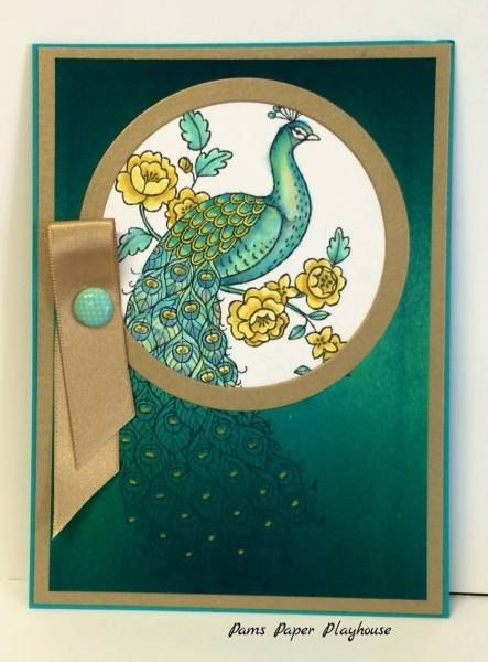 Perfect Peacock by Pamela T. Stoner