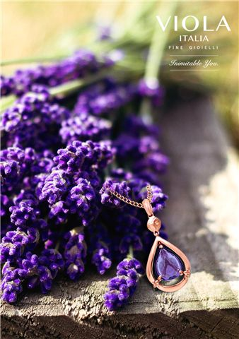 One of the first colours  used in history, was the luxurious, royal and mysterious deep purple; accentuated in this Amethyst Pendant. #History #Purple #Amethyst #Pendant #Royal #DeepPurple #Luxurious #Nature #Photography #Flowers #Fashion #Jewellery #Fashionista #Style #ViolaItalia