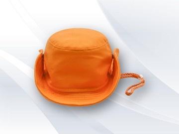 Chapéu Australiano infantil Personalizado VC1301 Chapéu australiano infantil personalizado 06 costuras entretelado, com regulador na cor e pingente plástico.
