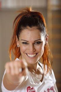 Finnish higher professional boxing featherweight European championboxer Eva Wahlström