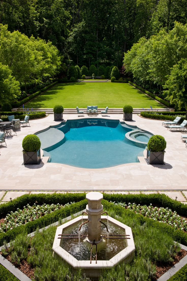 Pool, Hardscape, Site Design And Garden By Howard Design Studio In  Collaboration With Harrison Design Architects. | Howard Design Studio |  Pinterest ...