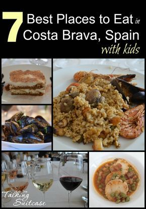 Read on to find the BEST places to eat in Costa Brava, Spain!  We visited the seven Official Family Holiday Destinations along the coast and ate at a restaurant in every village and sometimes two.