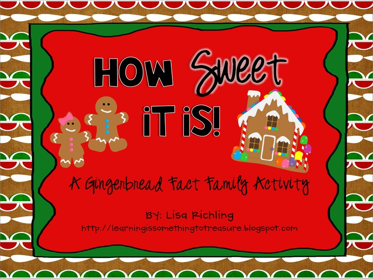 FREE How Sweet It Is (Fact Families): 1st-2nd