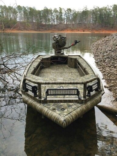 Prodigy Timber Series- The ultimate duck boat! #bowfishing