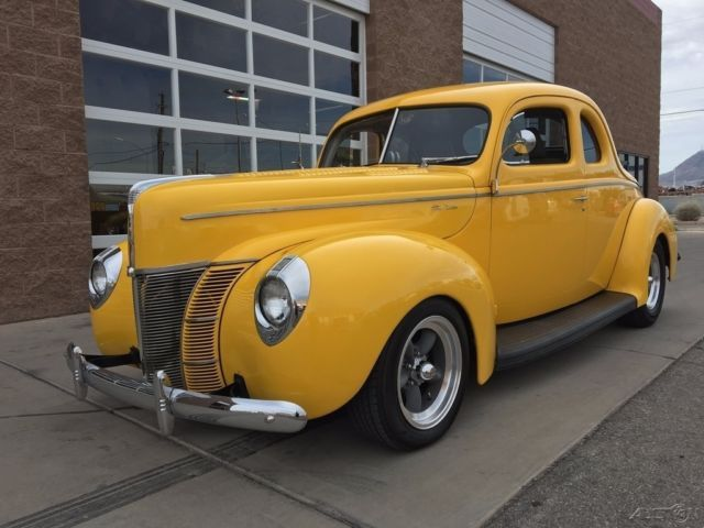 custom hot rod designs | 1940 FORD DELUXE BUSINESS COUPE HOTROD for sale: photos, technical specifications, description