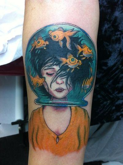 Tatoo Mogwai Ink Pinterest Girls Tatoo And Fishbowl