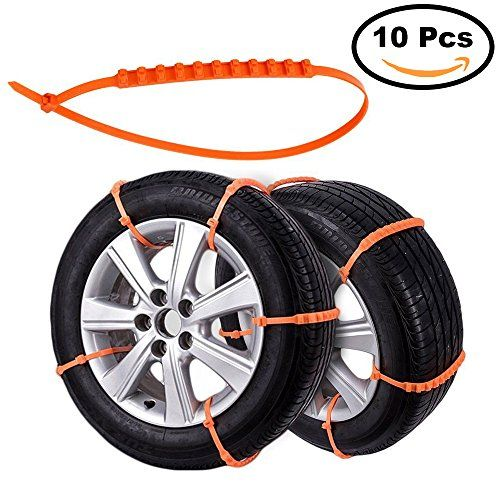 2nd Generation Snow Chains For Car, Anti-skid Emergency Snow Tyre Chains, Car Belting Straps 10PCS. For product info go to:  https://www.caraccessoriesonlinemarket.com/2nd-generation-snow-chains-for-car-anti-skid-emergency-snow-tyre-chains-car-belting-straps-10pcs/