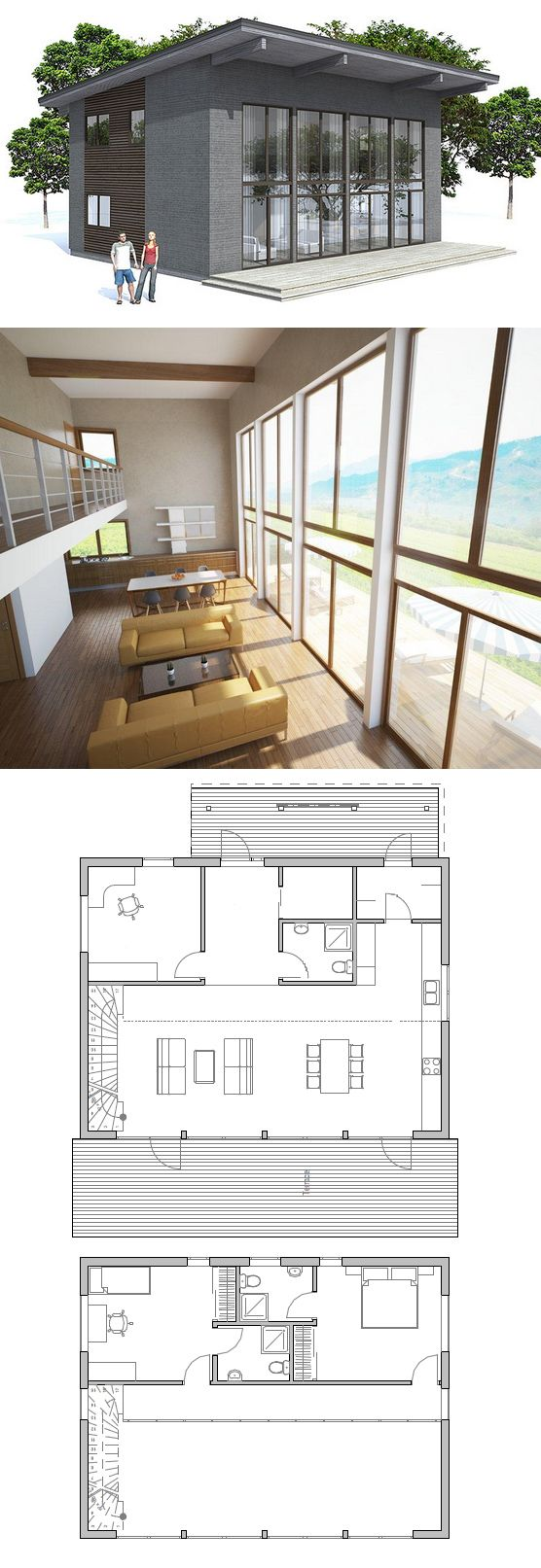 1000+ images about Slope roof modern on Pinterest - ^