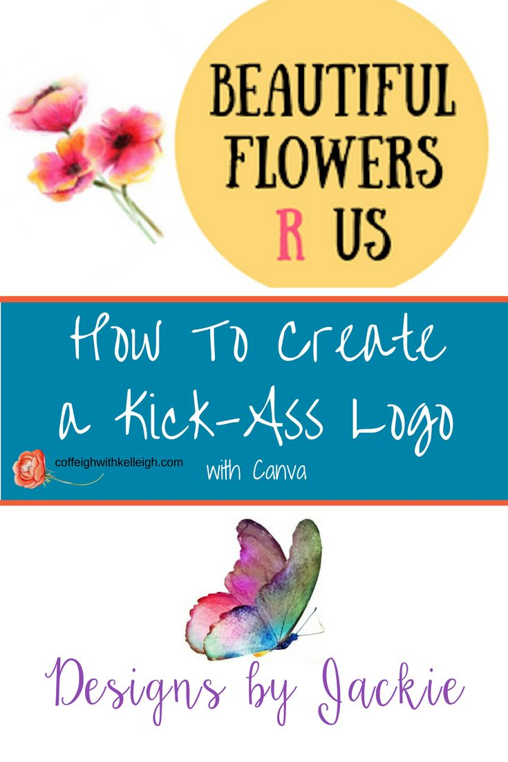 A great way to create a blog log with canva including images, text, graphics, and other elements from Creative Market, Shutterstock and the Hungry Jpeg.