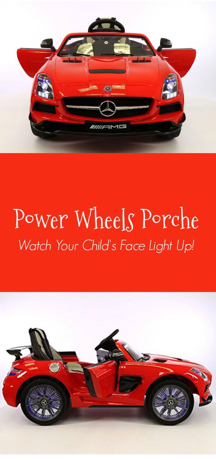 electric porsche style toy car for kids