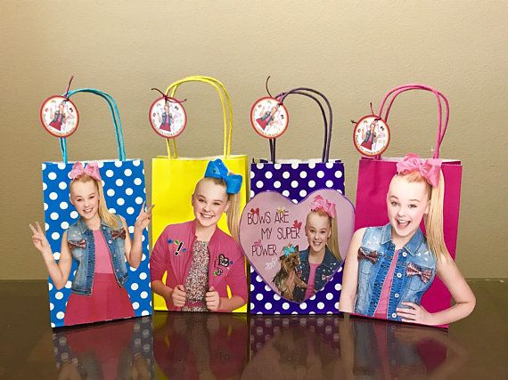 Jojo Siwa Party Bags In 2019 Mia S 7th Birthday Jojo