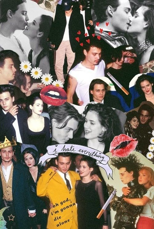 Johnny depp & Winona Ryder