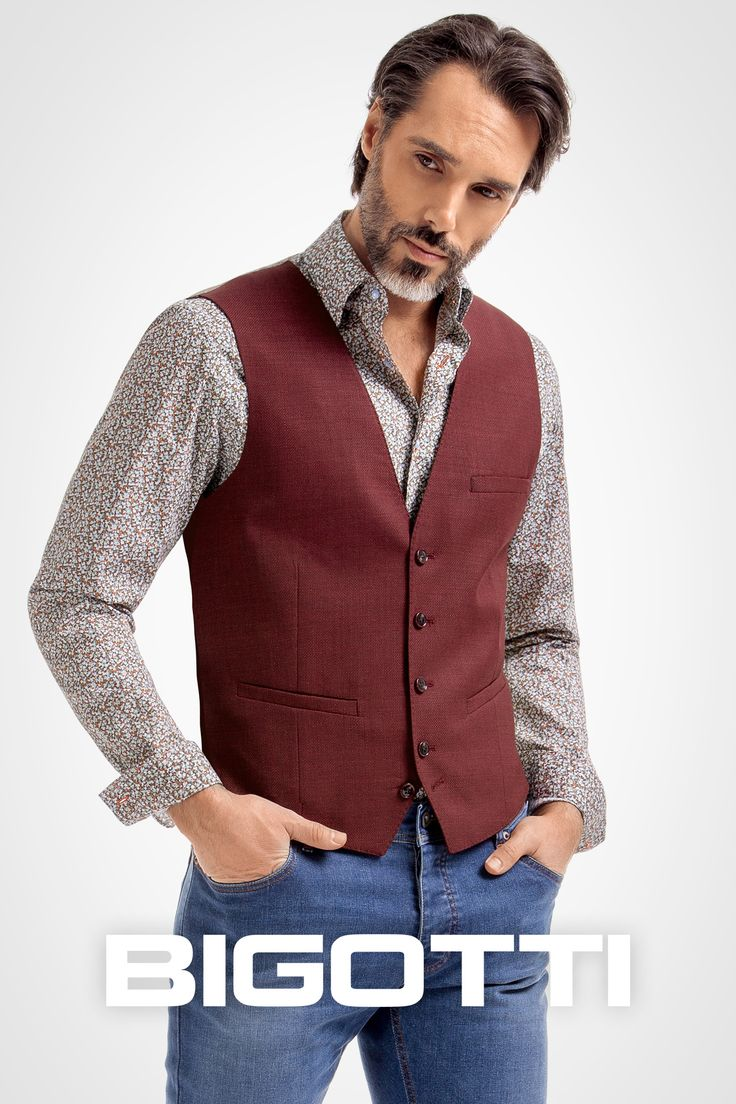 #Mens #waistcoats – a #modern #essentials #Browse and #shop in #Bigotti #men #clothing #stores and on www.bigotti.ro